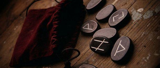 Wahrsagen mit die Rune