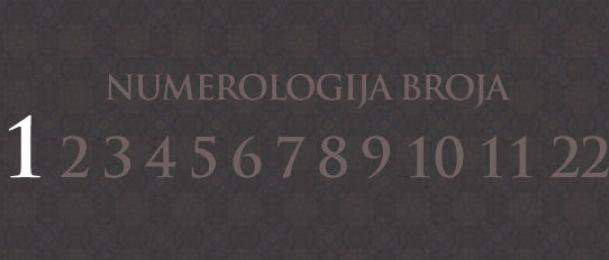 Numerologie für Zahl 1