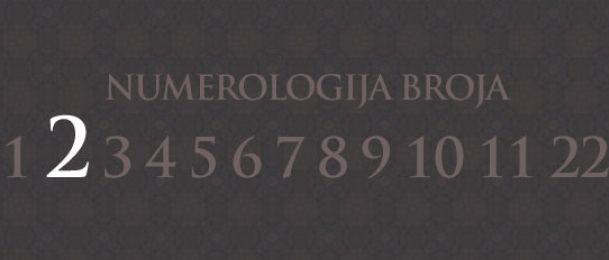 Numerologie für Zahl 2