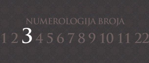 Numerologie für Zahl 3
