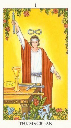 Die Bedeutung der Tarotkarten Magier
