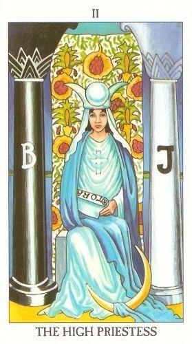 Die Bedeutung der Tarotkarten zu den Hohepriesterin
