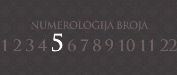 Numerologie für Zahl 5