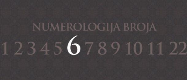 Numerologie für Zahl 6