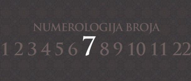 Numerologie für Zahl 7