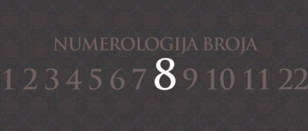Numerologie für Zahl 8