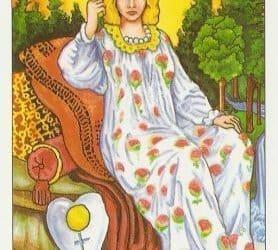 Bedeutung der Tarotkarten Königin (Die Herrscherin)