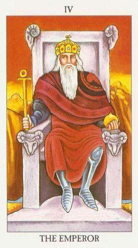 Bedeutung der Tarotkarten König (Der Herrscher)