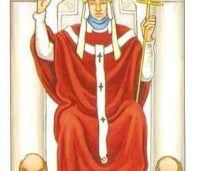 Die Bedeutung der Tarotkarten Papst (Der Hierophant)