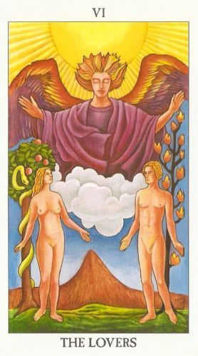 Die Bedeutung der Tarotkarten Liebenden