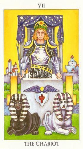 Bedeutung der Tarotkarten Wagen