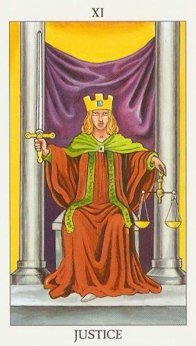 Die Bedeutung der Tarotkarten Gerechtigkeit