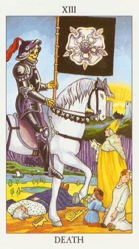 Die Bedeutung der Tarot-Karten Tod
