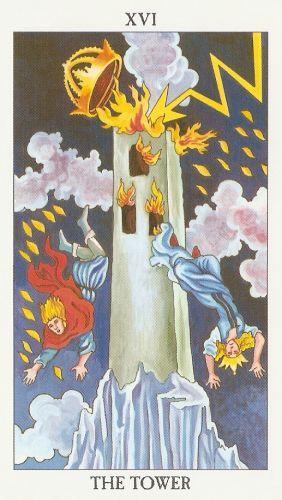 Die Bedeutung der Tarot-Karten Turm