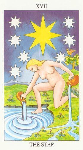 Die Bedeutung der Tarot-Karten Der Stern