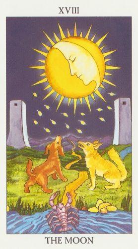 Die Bedeutung der Tarot-Karten Der Mond