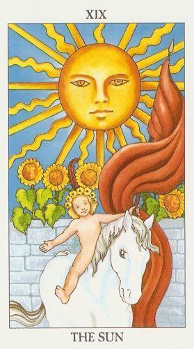 Die Bedeutung der Tarot-Karten Die Sonne