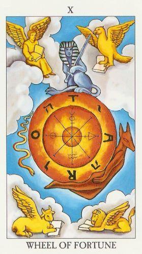 Die Bedeutung der Tarot-Karten das Schicksalsrad